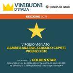 Capitel Vicenzi 2017 Gold Star Vini Buoni